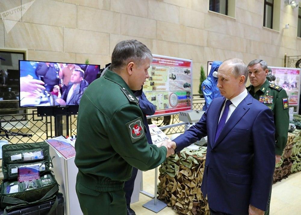 استخدام أسلحتنا في سوريا أوضح بشكل مقنع أن الجيش الروسي هو أحد الجيوش الرئيسية في العالم