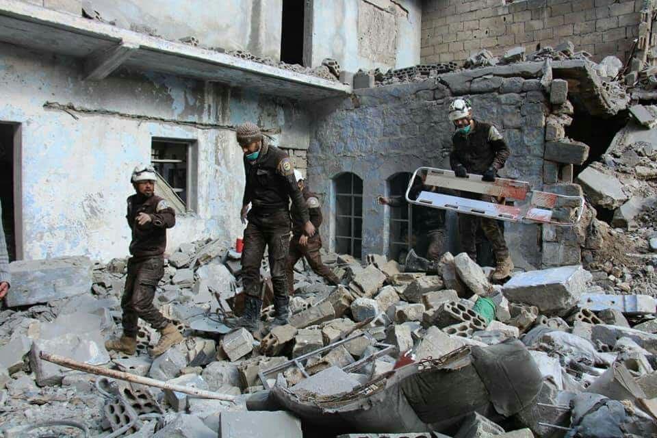 ضحايا مدنيون بقصف للنظام على حلب وإدلب