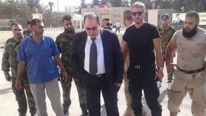 رئيس فرع الأمن العسكري سابقا في السويداء المدعو وفيق ناصر