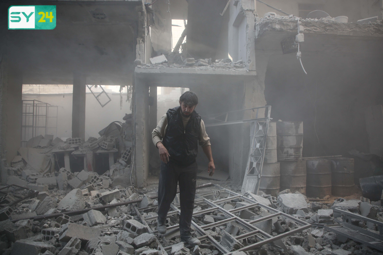 طالب مساعد المبعوث الخاص للأمم المتحدة إلى سورية يان إيجلاند بإعلان هدنة إنسانية فى الغوطة الشرقية
