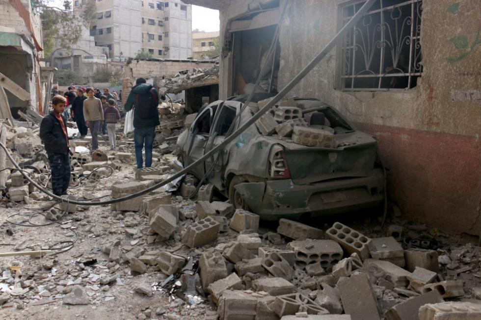 حادثة اعتداء على مراكز حيوية مدنيَّة في شهر كانون الثاني المنصرم