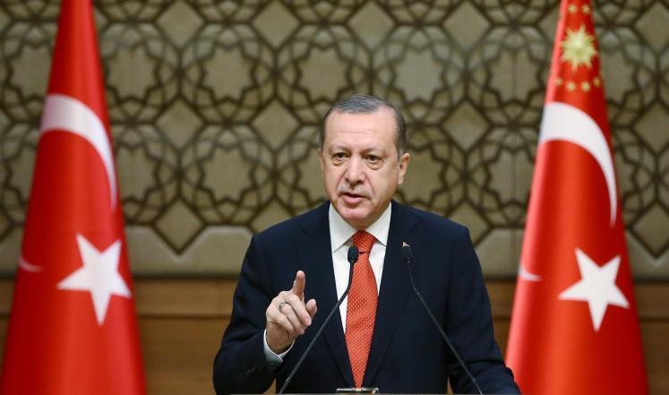 """الرئيس التركي """"رجب طيب أردوغان"""""""