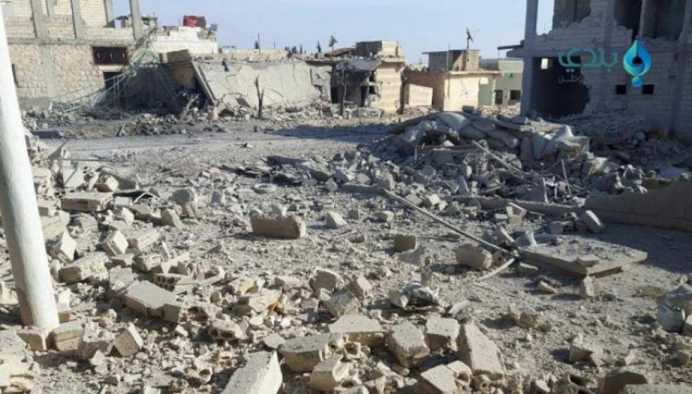 وصلت نحو 471 عائلة نازحة من ريفي إدلب الشرقي وحلب الجنوبي إلى بلدة خان العسل غرب مدينة حلب شمالي سورية