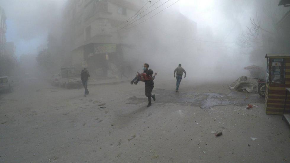 جاء في بيان المجلس أن عشرات المناشدات والاستغاثات من الغوطة الشرقية لم تجد آذاناً صاغية لدى المجتمع الدولي