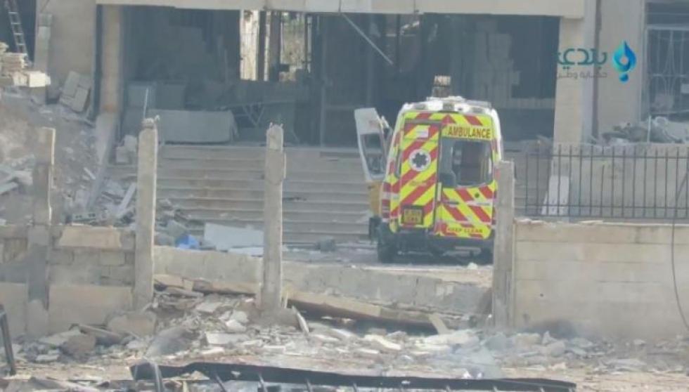 قوات النظام وروسيا تدمّر 15 مشفىً ومركزاً صحياً بمحافظ إدلب