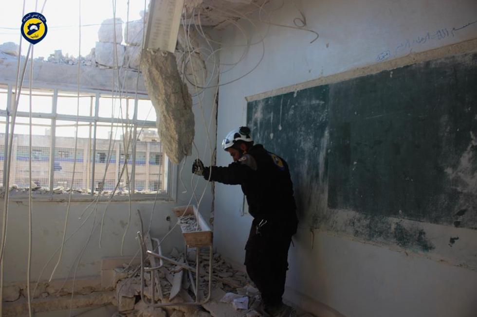 إغلاق مدارس إدلب