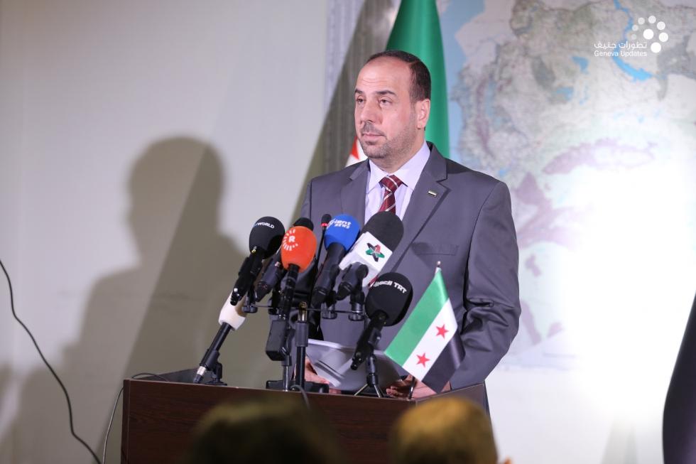 رئيس هيئة التفاوض السورية نصر الحريري