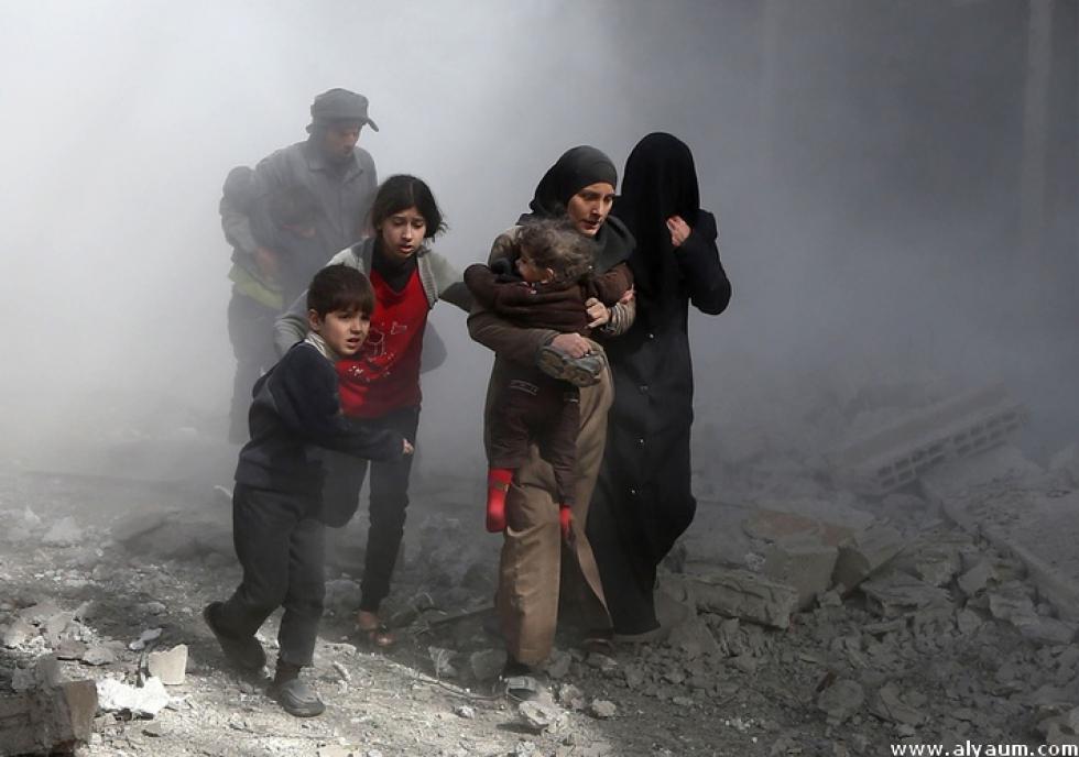 الغوطة الشرقية بحاجة لتدخل إنساني عاجل