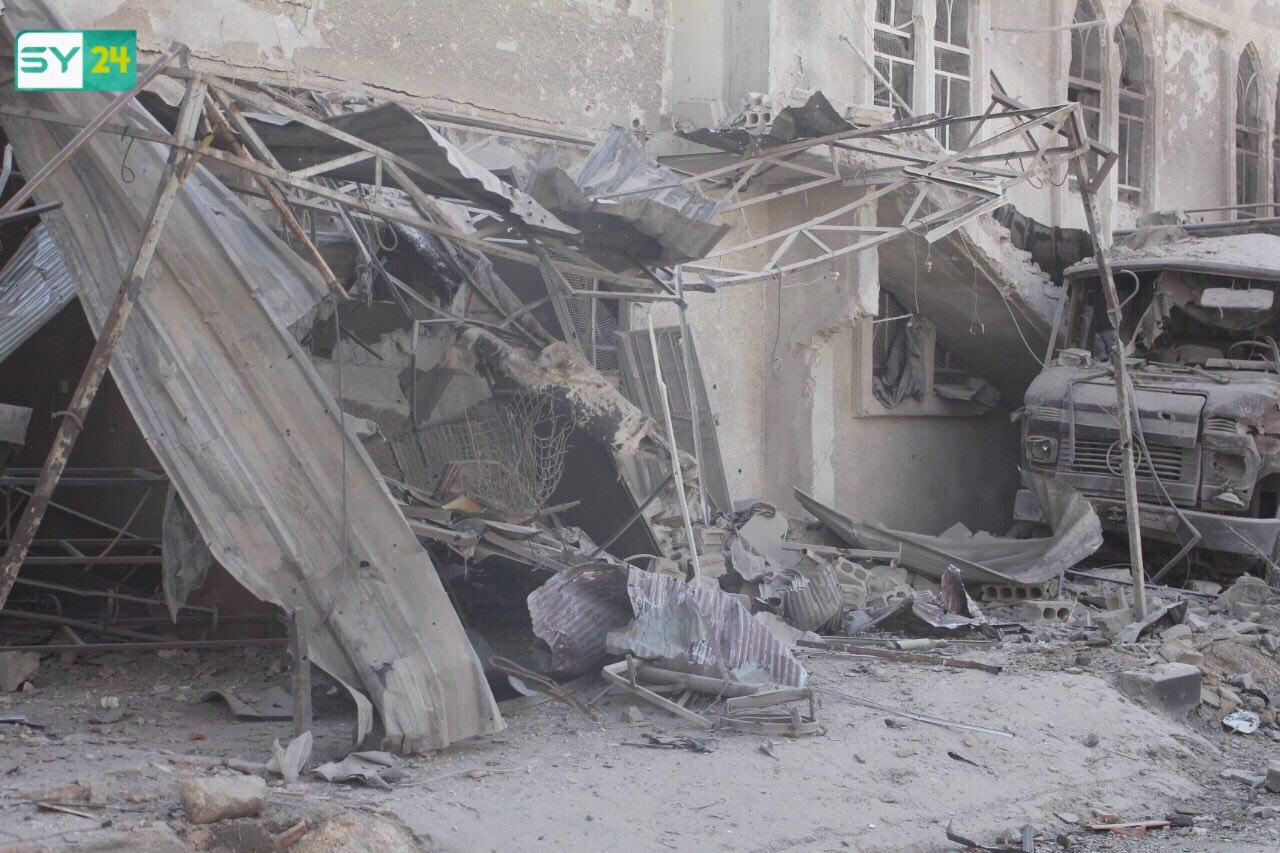بلغ عدد ضحايا القصف الذي تعرضت له مدن وبلدات الغوطة الشرقية يوم الاثنين الماضي، 33 قتيلاً بينهم نساء وأطفال.