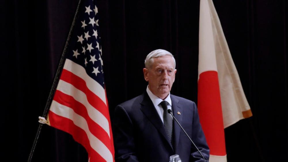 """وزير الدفاع الأمريكي """"جيم ماتيس"""""""