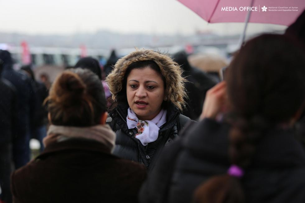 عضو الائتلاف الوطني لقوى الثورة والمعارضة السورية ديما موسى