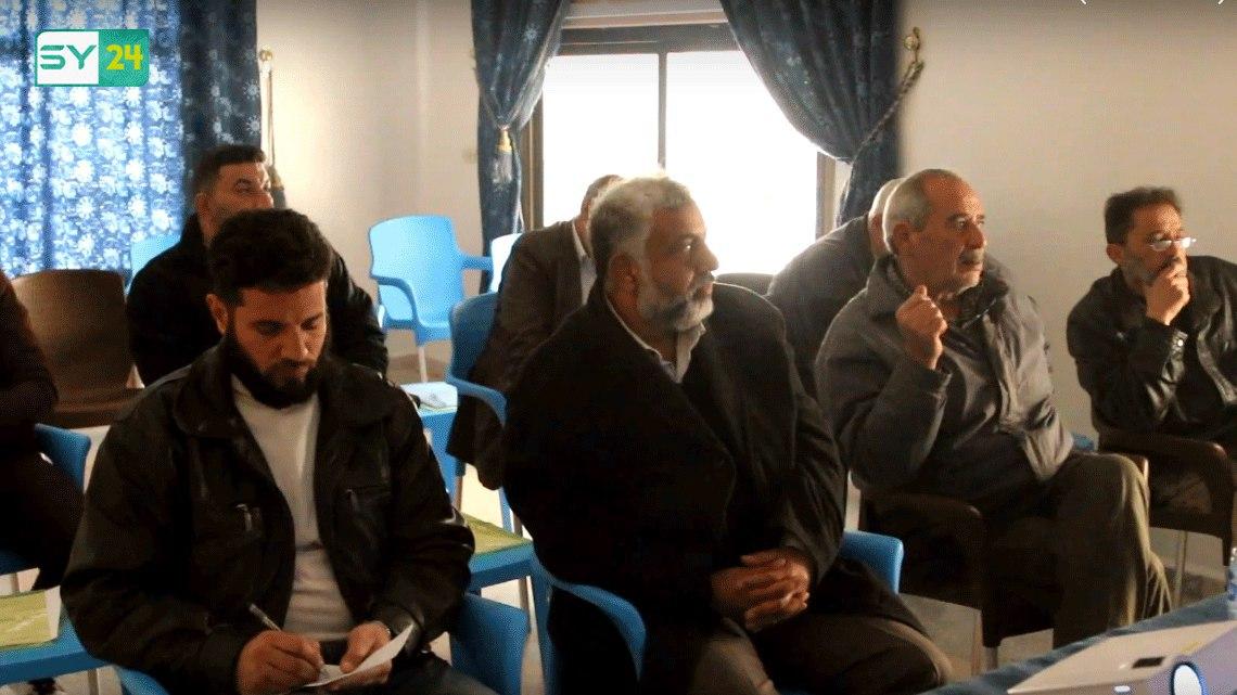 """اختتام دورة """"المتحدث البارع"""" لتطوير قدرات المجالس المحلية في ريف درعا"""