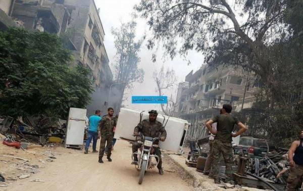 التعفيش في سوريا