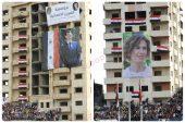 في حمص.. النظام يكرم جرحى قواته وعائلات قتلاه بالبسكويت وعلب المياه!