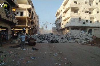 قوات النظام تنسحب من حواجز عسكرية في درعا البلد